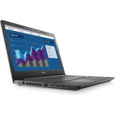 Dell Vostro 15 3000 15-3568 39.6 cm 15.6inch LCD Notebook - Intel Core i3 7th Gen i3-7100U Dual-core 2 Core 2.40 GHz - 4 GB DDR4 SDRAM - 128 GB SSD - Windows 10 P