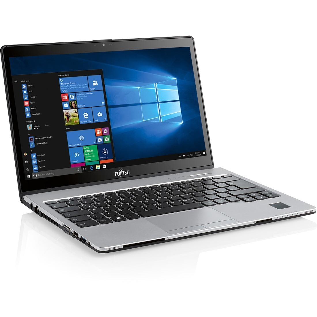 Fujitsu LIFEBOOK S937 33.8 cm 13.3inch LCD Notebook - Intel Core i5 7th Gen i5-7200U Dual-core 2 Core 2.50 GHz - 8 GB DDR4 SDRAM - 256 GB SSD - Windows 10 Pro 64-