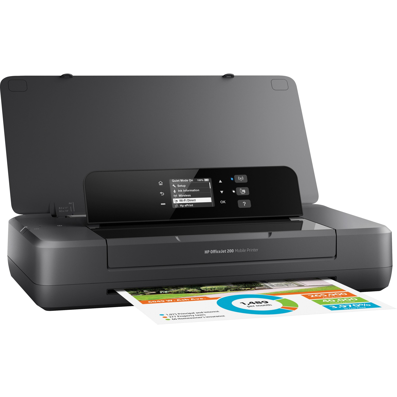 Hp Officejet 200 Inkjet Printer Color 20 Ppm Mono 19