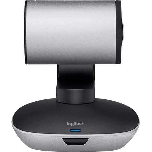 Logitech Video Conferencing Camera - 30 fps - Black, Silver - USB - 1920 x 1080 Video - Auto-focus