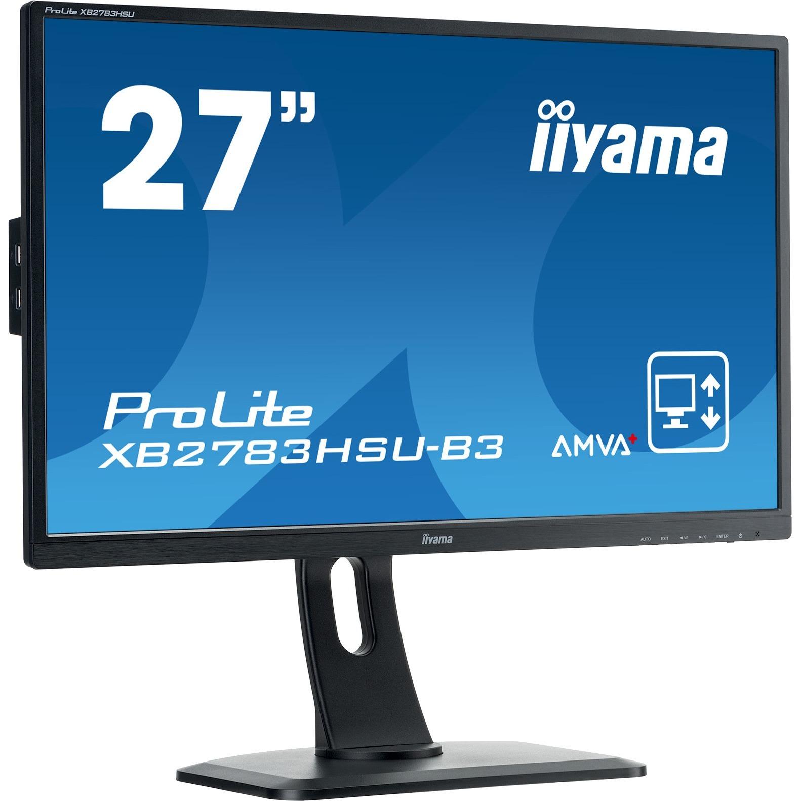 iiyama ProLite XB2783HSU-B3 27inch LED Monitor - 16:9 - 4 ms