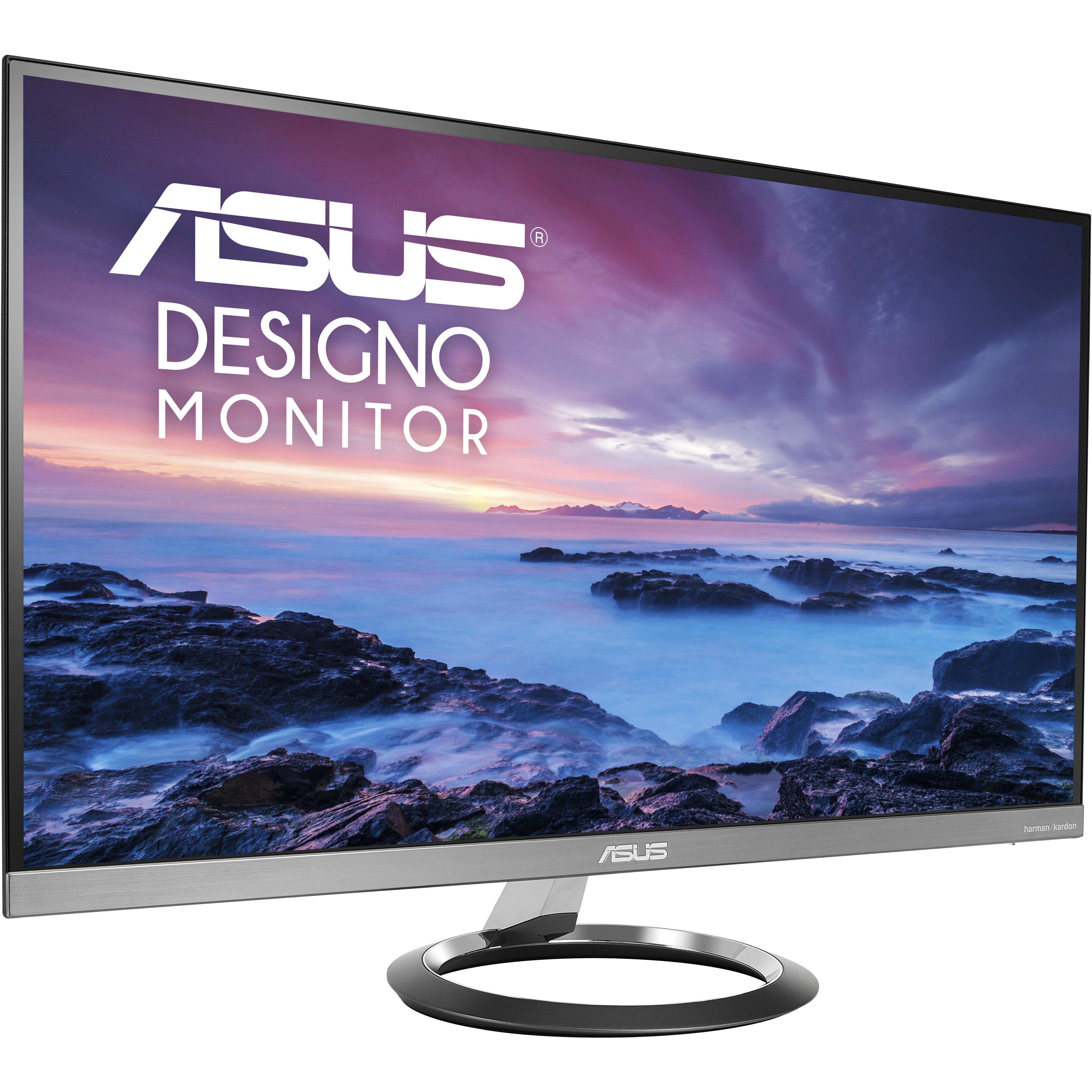 ASUS Designo MZ27AQ Ultraslim Monitor 27inch Frameless,  Sub-woofer, Audio by Harman Kardon