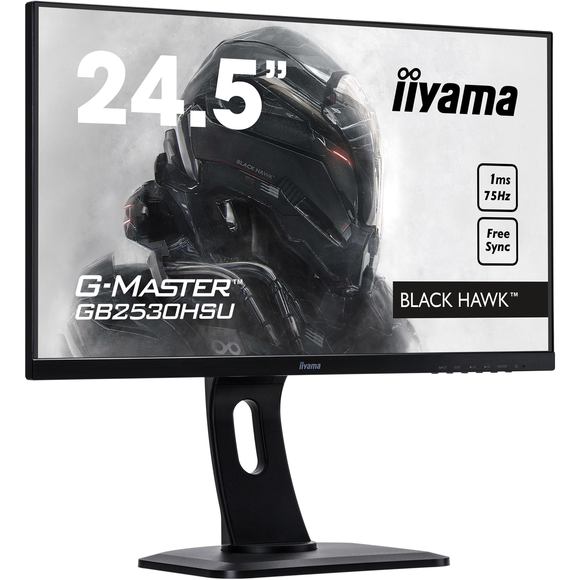 iiyama G-MASTER GB2530HSU-B1 24.5And#34; LED LCD Monitor - 16:9 - 1 ms