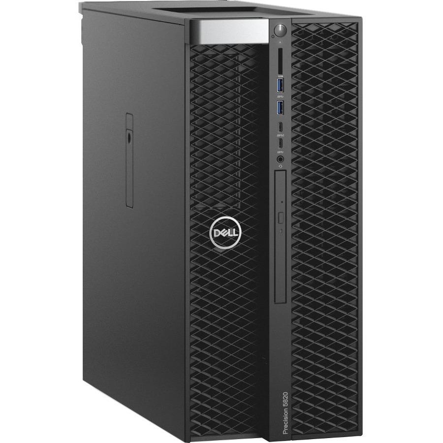 Dell Precision 5000 5820 Workstation - Xeon W-2123 - 16 GB RAM - 512 GB SSD - Tower - Black - Windows 10 Pro 64-bitNVIDIA Quadro P2000 5 GB Graphics - DVD-Writer - S