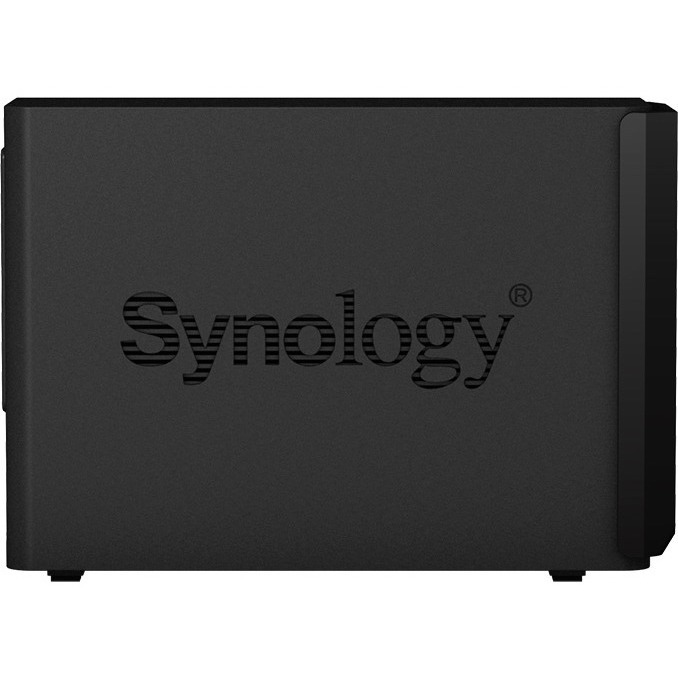 Synology DiskStation DS218plus 2 x Total Bays SAN/NAS Storage System - Desktop - 1 x Intel Celeron J3355 Dual-core 2 Core 2 GHz - 2 x HDD Supported - 24 TB Supported