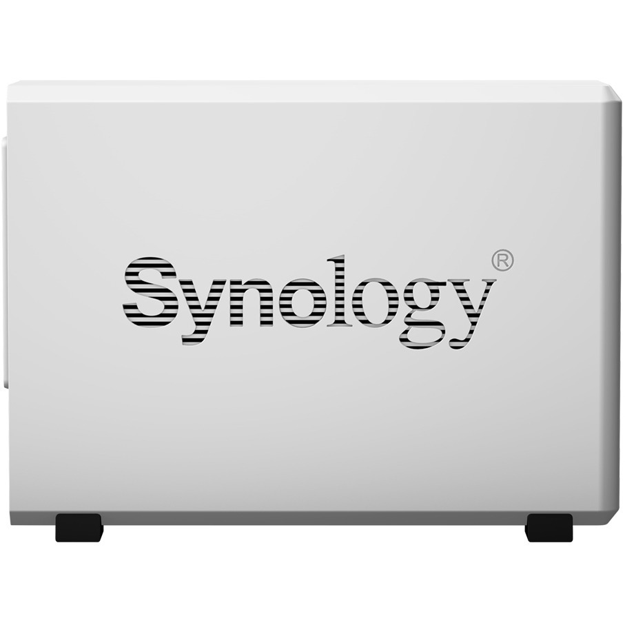Synology DiskStation DS218J 2 x Total Bays SAN/NAS Storage System - Desktop - Marvell Armada 385 88F6820 Dual-core 2 Core 1.30 GHz - 2 x HDD Supported - 24 TB Supp
