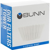 BUNN Home Brewer Coffee Filter - 100 / Pack - White BUNBCF100