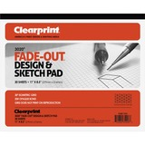 CLE932811ISO - Clearprint Isometric Grid Paper Pad - Letter