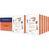 """Hammermill Punched Multipurpose Paper - Letter - 8.50"""" x 11"""" - 20 lb Basis Weight - 0% Recycled Cont HAM103275"""