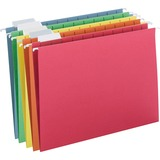 SMD64059 - Smead Colored Hanging Folders with Tabs