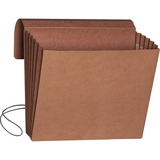 "Smead Redrope Expanding Wallets with Elastic Cord - 9 1/2"" x 11 3/4"" Sheet Size - 5 1/4"" Expansion - SMD71109"