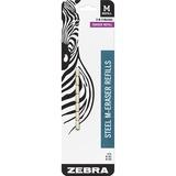 "Zebra Pen Mechanical Pencil Eraser Refill - Lead Pencil Eraser - 2.4"" Length - 1/Pack - White ZEB83211"