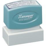 XSTN12 - Xstamper Custom Endorsement Pre-inked S...