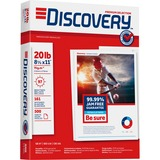 """Discovery Punched Premium Selection Multipurpose Paper - Letter - 8.50"""" x 11"""" - 20 lb Basis Weight - SNA00101"""