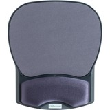 "Compucessory Comp Gel Mouse Pad with Wrist Rest - 8.7"" x 10.2"" x 1.2"" Dimension - Charcoal - Gel, Ly CCS55302"