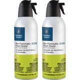 Compucessory Power Duster Plus Cleaning Spray - For Desktop Computer, Printer - Ozone-safe, Non-flam CCS24309