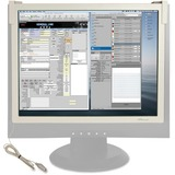 """Compucessory Premium Privacy Filter Gray - For 17""""CRT Monitor CCS20108"""