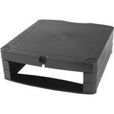 "Compucessory Monitor Riser - Flat Panel, CRT Display Type Supported13.3"" Width x 12.1"" Depth - Black CCS25303"