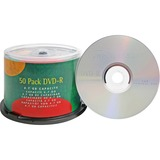 Compucessory DVD Recordable Media - DVD-R - 16x - 4.70 GB - 50 Pack - 120mm - 2 Hour Maximum Recordi CCS35557