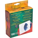 "Compucessory CD/DVD Window Envelopes - CD/DVD - 5"" Width x 5"" Length - 100 / Box - White CCS26500"