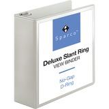 SPR62471 - Sparco Deluxe Slant Ring View Binders