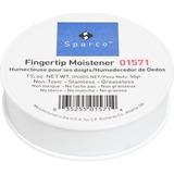 Sparco Sortkwik Fingertip Moistener - Non-slip, Greaseless, Stainingless, Odorless - 1.75 oz - White SPR01571