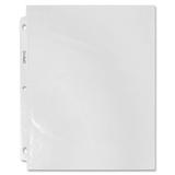 """Sparco Standard Top-load Sheet Protectors - 11"""" Height x 9"""" Width - 2 mil Thickness - For Letter 8.5 SPROP911C"""