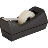"Sparco Desktop Tape Dispenser - Holds Total 1 Tape(s) - 1"" Core - Refillable - Black SPR64007"