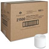 "Sparco Receipt Paper - 2.25"" x 150 ft - 100 / Carton - White SPR21500"