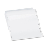 "Sparco Continuous Paper - Statement - 9.50"" x 5.50"" - 20 lb Basis Weight - 4800 / Carton - White SPR62447"