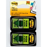 MMM680SD2 - Post-it® Message Flags - 2 Dispensers
