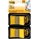 "MMM680YW2 - Post-it® Flags, 1"" Wide, Yellow 2-pack"