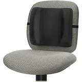 "Fellowes Ergonomic Backrest - Black - Adjustable Strap - 13"" x 4"" x 12"" - Black FEL91905"