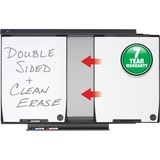 """Quartet Motion® Conference System - 42.5"""" (3.5 ft) Width x 60"""" (5 ft) Height - White Surface - B QRTMMS100"""