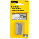 """Stanley Razor Blades - 5.88"""" Length - StyleSnap-off - Carbon Steel - 10 / Pack BOS28510"""