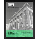 Burnes Ebony Wood Poster Frame