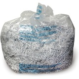 3000 Series General Office Shredder Bags, Tear-Resistant, 25 Bags/Box, Clear  MPN:1765010