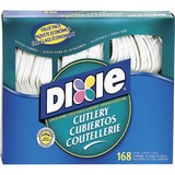 DXECM168 - Dixie Heavyweight Disposable Forks, Knives & S...
