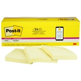 "MMM65424SSCP - Post-it® Super Sticky Notes, 3"" x 3"" C..."