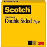 "MMM66512900 - Scotch Permanent Double-Sided Tape - 1/2""W"