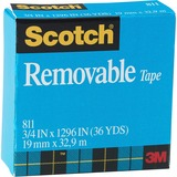 MMM811341296 - Scotch Removable Magic Tape Roll