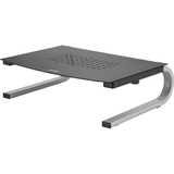 Redmond Monitor Stand, 14 5/8 x 11 x 4 1/4, Black/Gray/Silver  MPN:29248