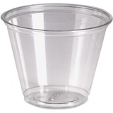 Dixie Crystal Clear Cup - 9 oz - 50 / Pack - Clear - Plastic - Cold Drink DXECP9APK