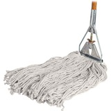 GJO54201 - Genuine Joe Wood Handle Complete Wet Mop