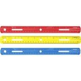 """ACM10526 - Westcott 12"""" Plastic Ruler"""