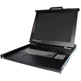 StarTech.com 1U 19 Rackmount LCD Console - USB + PS/2