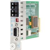 Omnitron iConverter RS232 Copper To Fiber Media Converter