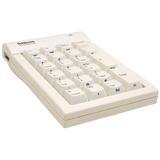 Goldtouch Numeric Keypad USB White Macintosh By Ergoguys