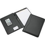 "SKILCRAFT Portfolio with Solar Calculator - Letter - 8 1/2"" x 11"" Sheet Size - Internal Pocket(s) -  NSN4844563"