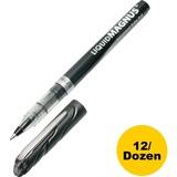 SKILCRAFT Free Ink Rollerball Pen - 0.7 mm Point Size - Black - 1 Dozen NSN4612664